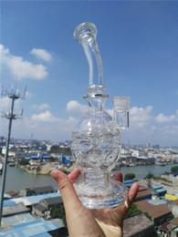 Canada Conduites d'eau en verre à 2 fonctions Fab Egg Bongs en verre solide de bateau mère cheap 14 mm female bong bowl Offre