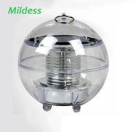 Wholesale Outdoors Fountains - Mildness Pool Lamp Waterproof Lamps RGB Ball Light Floating Pool Garden Decoration Pond Solar LED Fountain Outdoor Lighting