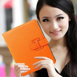 Wholesale hot orange mini - Fold H leather Smart Cover Case For iPad Pro Air 2 3 4 5 6 ipad pro 9.7 iPad Mini 2 3 4 With Auto Sleep Wake
