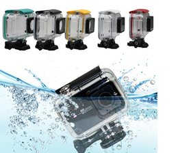 40M Diving Funda impermeable para Xiaomi Yi 4K Lite Xiaoyi 2 cámara de acción funda protectora para Yi 4K Accesorios desde fabricantes