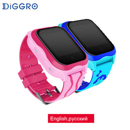 2019 смарт-часы sim wifi Diggro A32W Kid Watch GPS 2G Wifi Kid Smart Watch Waterproof Touch Screen Smart Watches Support SIM Card SOS Call Voice Chat дешево смарт-часы sim wifi