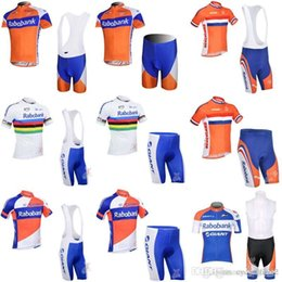 RABOBANK team Cycling Short Sleeves jersey bib shorts sets New Breathable  Breathable Quick dry MTB bike men s clothing F0906 ddbdb0746