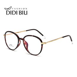 floral eyewear frames Coupons - DID TR90 Titanium Glasses Red Marble Clear Glasses Oval Decoration Eyeglass Prescription Eyewear Unisex Optical Frame Gafas W847