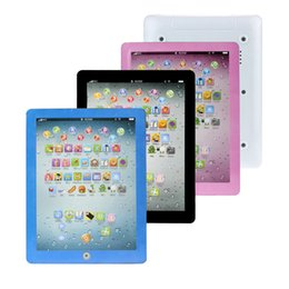 Wholesale Children Learning Computer - English Early Learning Study Machine Baby Tablet Educational Toys For Child Electronic Touch Type Computer Gift Toy DropShipping