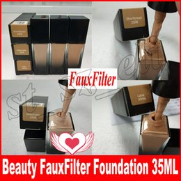 Wholesale Ups Types - New Beauty Face fauxfilter Liquid Foundation Makeup Liquid Concealer Make Up Cosmetics Face Skin Care 35ml