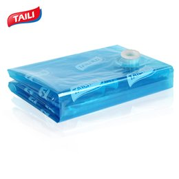 Wholesale vacuum bags space saving - Vacuum Bag For Clothes Storage Bag Vacuum Compression Saving Space Bedding Foldable Seal Clothes Bags