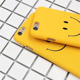 Wholesale smile phone cases - DK602 dull polish hard case for iPhone7 and 7 plus,fashion smile back cover for iPhone6 6S plus,plastic phone case for iPhone5S SE
