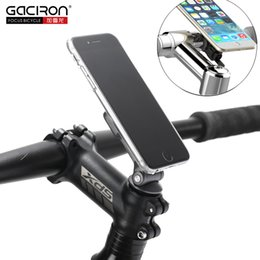 стебель Скидка Gaciron 2IN1 Bicycle Phone Holder Cycling Mobile Phone Stand Mount For MTB Road Bike Motorcycle Installed On Handlebar And Stem