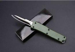 Mini couteau de poche petit couteau automatique vert poignée camping couteaux pliants porte-clés cadeau couteau sans fret ? partir de fabricateur