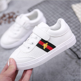 Wholesale Fall Specials - Flagship store special step fall girl spring shoes 2018 new children's shoes men's white shoes boys canvas
