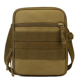 free molle gear Promo Codes - Molle Satchel Messenger Shoulder Crossbody School Leisure Bag Chest Pack USA Advance Defense Ultra-light Rang Gear Free Shipping