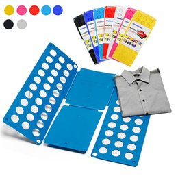 shirts folder Coupons - Magic Clothes Folder for Adults Kids Shirt Folding Board Fast Speed Folder Multi Functional Shirts Folding Board Laundry Cleaner Garment Use