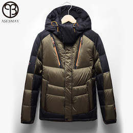 790e3dfdb7 Asesmay fashion thick down jacket men brand winter down coat male top  quality 90% white duck casual parkas snow jacket