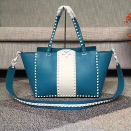 Wholesale Padlock Blue - AAAAAA Quality Women 0973 Padlock Medium Tian Shoulder Bag,Canvas+Genuine Leather,Web Strap,Lock Closure,with Box Dust Bag Free Shipping