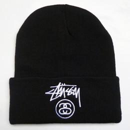 Bonnets hiver broderie chapeaux pour les femmes hommes bonnet hip hop rue garçons filles dames cachemire crânes casquettes harajuku punk chaud en plein air tricoté ? partir de fabricateur