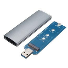 2019 adaptateur ssd sata M.2 NGFF SSD SATA vers USB 3.0 convertisseur adaptateur boîtier boîtier de stockage boîtier externe avec tournevis promotion adaptateur ssd sata