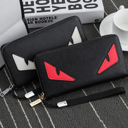 Wholesale Envelope Wallets - Mens Clutch Casual Wallet 2018 Hot Mens Long Tote Bag Phone Pocket Couple Wallet Free shipping