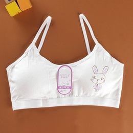 8e13efff9 Popular Style Young Teenager Girls Students Cotton Summer Comfortable  Breathable Cartoon Rabbit Underwear Camisole Vest ZFS0634 discount girl  students ...