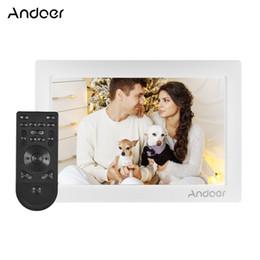 Cadre photo numérique 10 pouces Andoer Plein écran Écran IPS Résolution 1080p Prise en charge du capteur G Lecture aléatoire avec télécommande ? partir de fabricateur