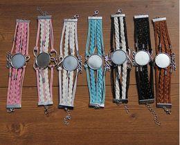 Wholesale Custom Snakes - love bracelets for sublimation Multi-storey women bracelet jewelry for heat tranfer printing consumable custom jewelry wholesales