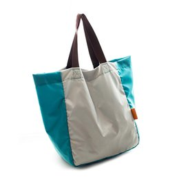 32a5e1c597e1 pocket foldable shopping bag UK - YIFANGZHE Beach Tote Bags Women Travel  Totes Bag Shopping Zippered