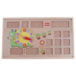 Deutschland Kinder Holz Früherziehung Multifunktions Digital Arithmetik Lernbox Betrieb Lernen Mathematik Lehrmittel Spielzeug Versorgung