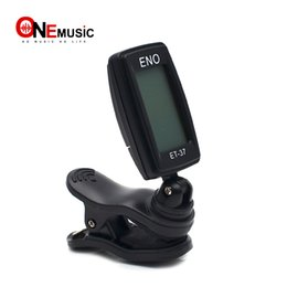 ENO ET-37 LCD Mini Clip-on Guitare Electronique Basse Chromatique Violon Ukulel Tuner Instrument à Vent Universel MU0434 ? partir de fabricateur