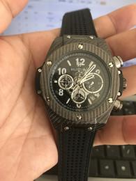 Wholesale Clock Works - All Subdials Work Top Brand H B Men Watches Montre Homme Luxury Swiss AAA Men Quartz Watches Reloj Hombre Male Clock Relogio Masculino