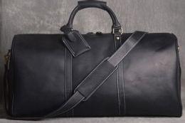 Mektup sıcak satış Seyahat Yüksek Kalite Ünlü Marka Keepall omuz seyahat çantası N41418 Duffle Çanta hakiki deri kahverengi mono Erkek Bagaj Çantası nereden deri yüzük tedarikçiler
