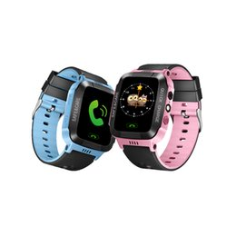 Ребенок gps-трекер часы браслет онлайн-Y21 смарт-часы дети GPS анти-потерянный ребенок трекер часы Android смарт-браслет для детей детские Sim-карты