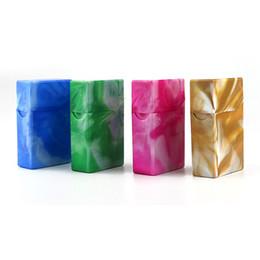 Caixas à prova de umidade on-line-Mais novo colorido caixa de armazenamento caixa de armazenamento de cigarros de plástico de alta qualidade exclusivo design à prova de umidade anti queda deformação de proteção