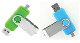 Wholesale special drive - New 50pcs lot Mobile U disk 64GB 128GB creative OTG Dual USB flash drive USB mini special offer free shipping personality characteristics
