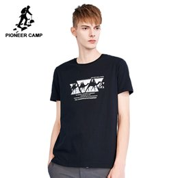 25a0719318a Pioneer camp new short sleeve t shirt men brand clothing camel print cotton  tshirt men summer casual quality tees male ADT802141
