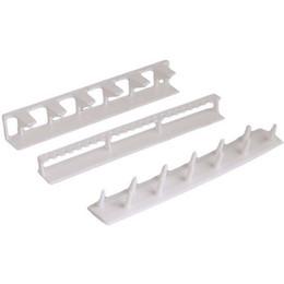 Armazenamento de jóias de parede on-line-9 em 1 colar adesivo de parede pendurado ganchos de armazenamento de exibição de jóias organizador colar cabide