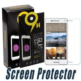 Wholesale M7 One - Tempered Glass For HTC One M7 M8 M9 E9 Max Tempered Glass Screen Protector Film Anti Shatter 9H 2.5D For HTC M9 Plus M10 UPlay 10 Lifestyle