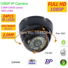 Wholesale Hd Filters - New H.264 2.0MP mini 1080P IP Camera CCTV Full HD 1920*1080 Indoor Security network Camera with P2P,ONVIF,IR Cut Filter