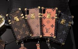 LUXE impression cas de téléphone pour apple iphonex xs max xr iphone 8 8plus 7 6 s plus haute qualité couverture de téléphone portable en cuir ? partir de fabricateur