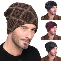 83a8a6ecaaf 2019 New Knit Beanies Hat Skullies Cap Women Men Unisex Knit Baggy Beanie  Oversize Fashion Winter Hat Ski Slouchy Chic Cap
