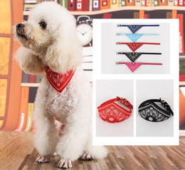 Wholesale Pomeranian Dogs - Cat Dog Collar Scarf triangle pet collar Pomeranian collar slobber towel cat Bib Pet accessories 5 color