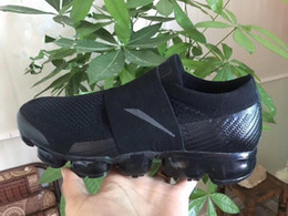 Wholesale High Fashion Shoes For Women - .hot sale 2017 VaporMax 2018 BE TRUE Men Woman Shock Running Shoes For high Quality Fashion Casual Vapor Maxes Sports Sneakers