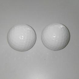 Ordem rosa bola on-line-Brand new 2 peças azul rosa Sexo Revelar piada Bolas de Golfe aceitar pequenas encomendas