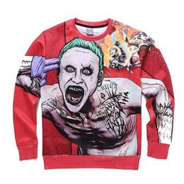 Wholesale Zombie Sweatshirt - Hip Hop Hoodie New Fashion Men Women autumn winter thin style print terrible zombie 3d sweatshirts casual hoodies Asia size S-XXL