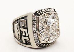 fútbol de fantasía Rebajas Nueva ventiladores llegada del anillo, 2018 Fantasy Football fans de anillo, hombres mujeres anillo de regalo de envío de la gota