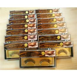 taiwan faux cils Promotion Faux cils 3D Faux cils 15 Styles Beauté À La Main Épais Doux Doux Cils Lashes Faux Cils Cils