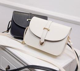 Wholesale Belt Buckle Covers - Spring fashion women bag quality pu leather belt buckle arrow handbag minimalist styling package sweet female British phone bag