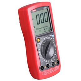 Wholesale Digital Volt Meter Ammeter - UNI-T Digital Multimeter Ammeter Volt Meter Capacitance LCD AVO Meter temperature test Multitester