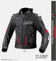 Wholesale high performance alloy - KOMINE JK015 high-performance titanium alloy drop resistance jackets mesh summer racing motorcycle jacket with 7pcs protector