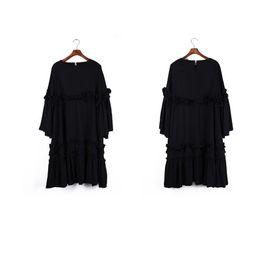 Wholesale Ladies Long Sleeve Night Gown - New Women's Fashion Shirt Dresses Autumn Long Sleeve Hot Sell Printed Plaid Street Style Slim Lady Long Designer