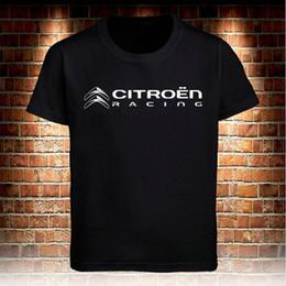 Argentina Citroën Racing Support Dropship camiseta hombre camiseta negra S a 3Xl camiseta más el tamaño de manga corta para hombre camisetas moda 2018 Nuevo Suministro