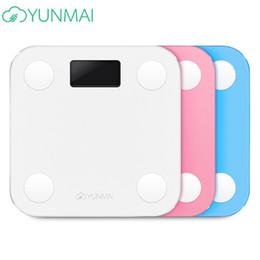 YUNMAI горячая ванная комната Smart Mini Yunmai шкала ИМТ цифровой жира Весы умный электронный человеческий вес Mi Весы Steelyard ЖК-дисплей ТБ от Поставщики x сигарета